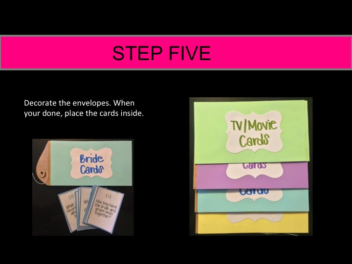 how to make instructions for a board game